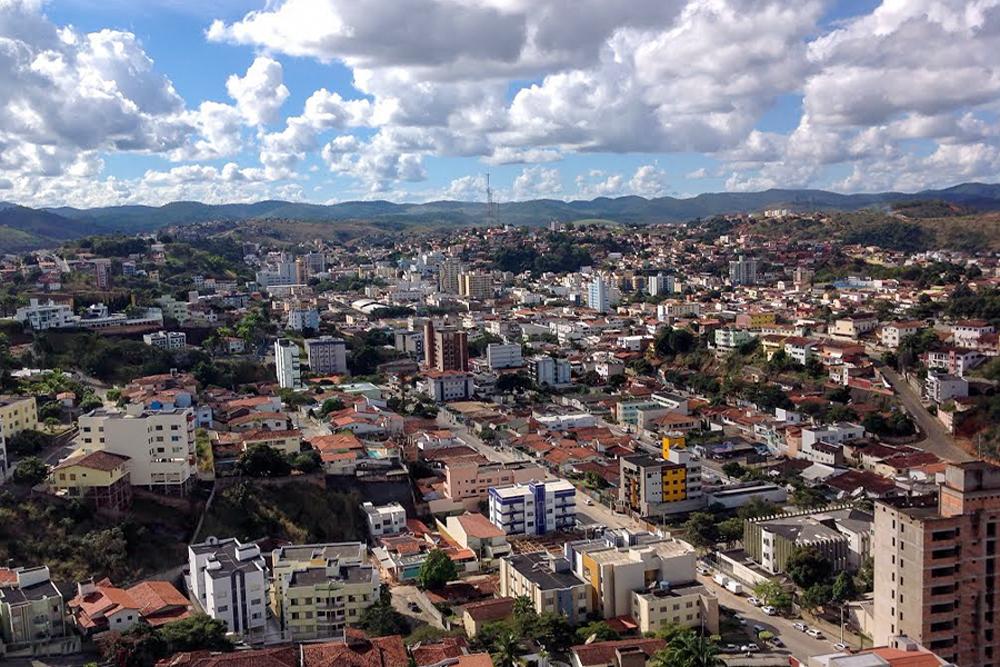 Vista urbana de Teófilo Otôni