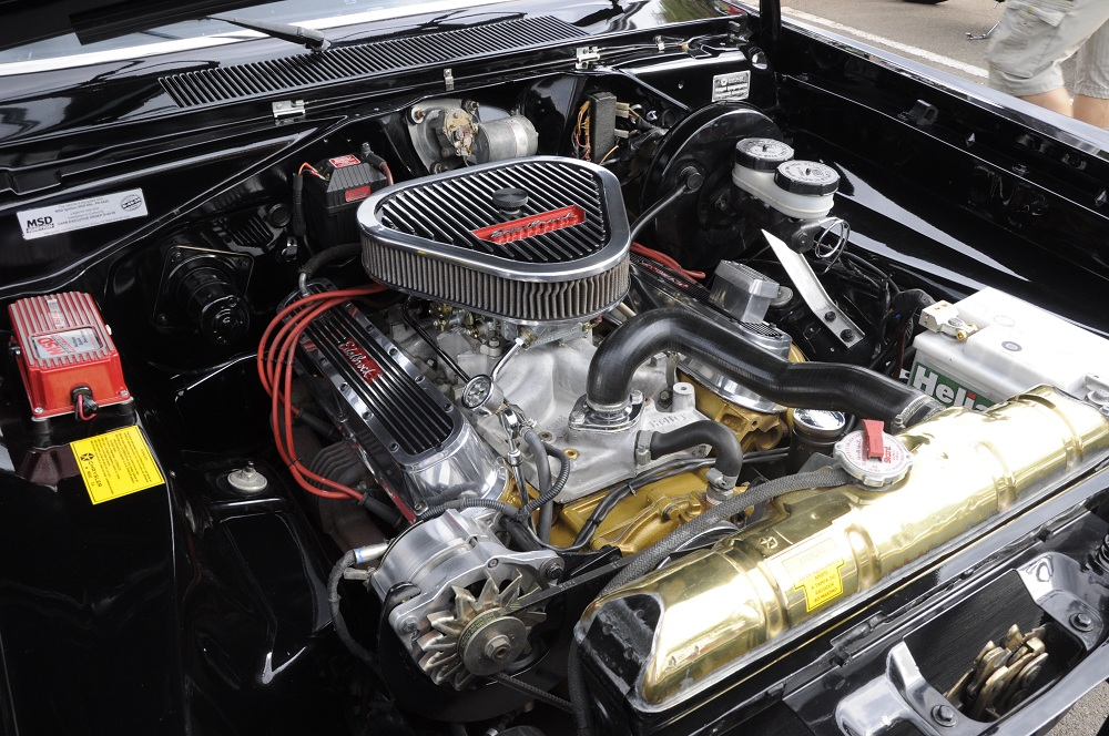 Motor de carro antigo