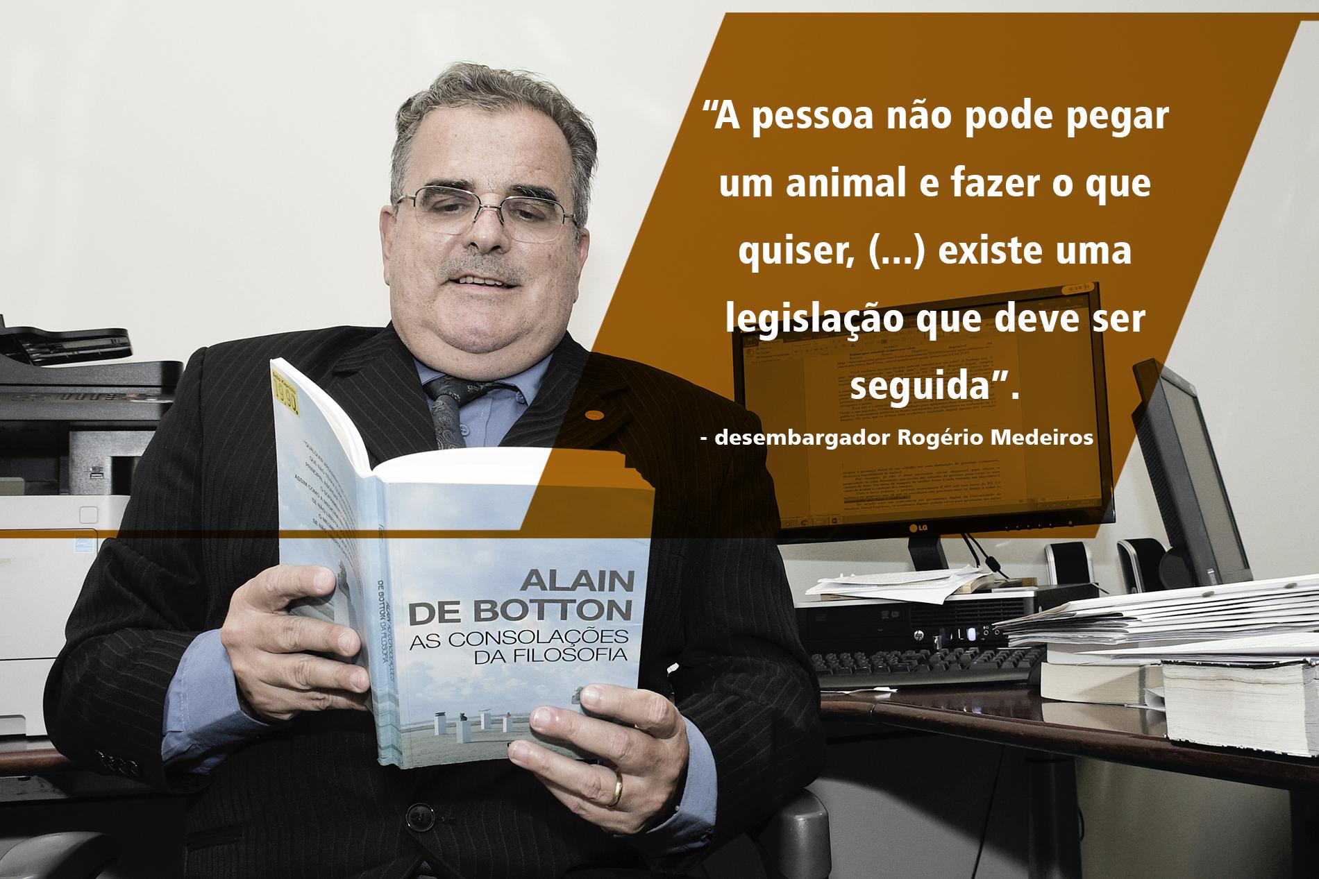 foto do desembargador do Tribunal de Justiça de Minas Gerais, Rogério Medeiros.