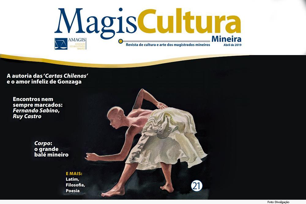 Capa de revista MagisCultura