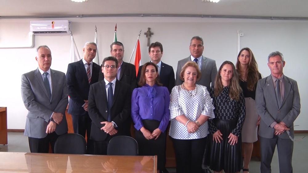 Equipe do TJMG e de Brumadinho, defensor público-geral e outros parceiros do Judiciário